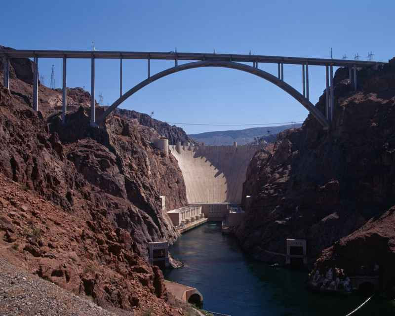 Image of Hoover Dam Bypass Bridge (2010)