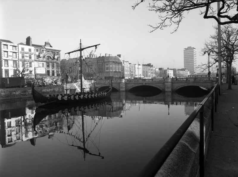 Image of The Liffey and Dublin
