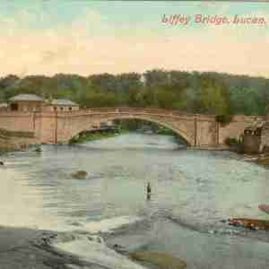 Lucan Bridge Postcard