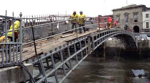 Image of Ha'penny Bridge - Design & Engineering