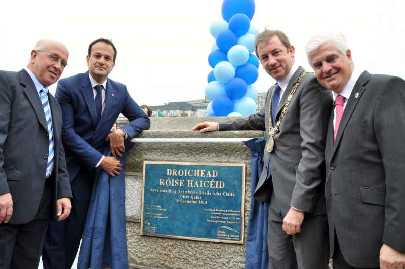 Image of Rosie Hackett Bridge opens
