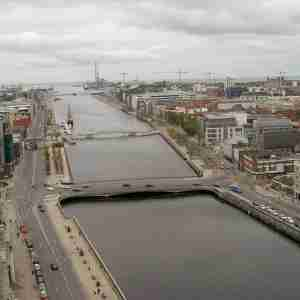 Talbot Memorial Bridge - From Liberty Hall (2006)