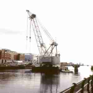 Sean O'Casey Bridge - Construction (2005)