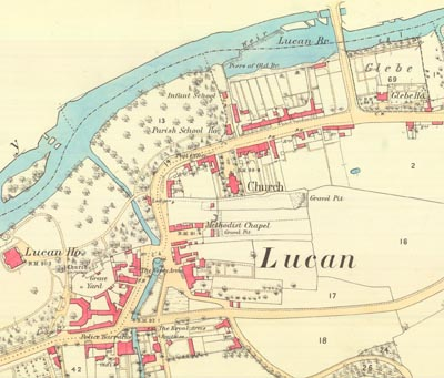 Image of Lucan Bridge - History