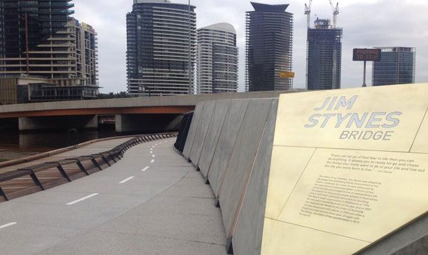 Image of Jim Stynes Bridge opens in Melbourne